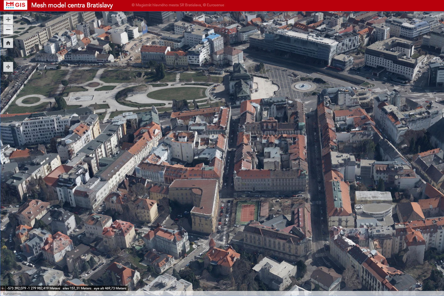 Bratislava 3D model