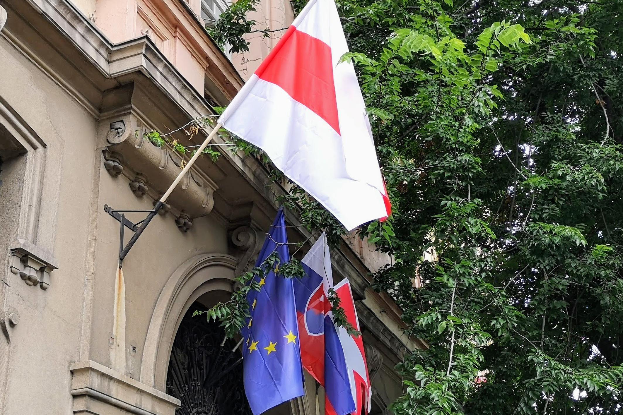Mesto vyjadruje podporu boja bieloruského národa za slobodu